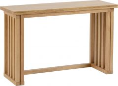 Seconique Richmond Oak Foldaway Dining Table & 2 Chairs Set