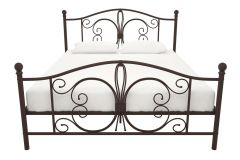 Bombay Bronze Metal Bed 5ft King Size 150 x 200 cm By Dorel