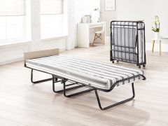 JAY-BE Supreme Automatic Folding Guest Bed & Mattresses - 2ft6 Small Single + Airflow Mattress