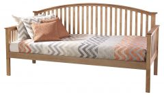 Madrid Solid Wood 3ft Single Guest Day Bed - Oak