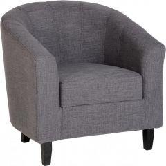 Seconique Tempo Tub Chair - Grey Fabric