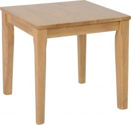 Seconique Logan Living Room Lamp Table Oak Varnish