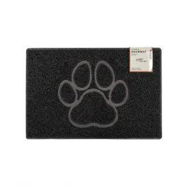 Oseasons® Paw Embossed Robust & Tough Vinyl Black Doormats - 4 Sizes