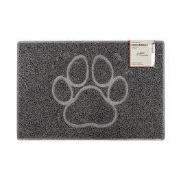 Oseasons® Paw Embossed Robust & Tough Vinyl Grey Doormats - 4 Sizes