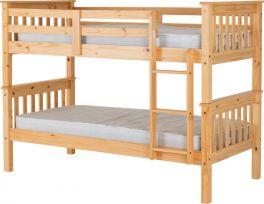 Seconique Neptune 3ft Bunk Bed - Oak