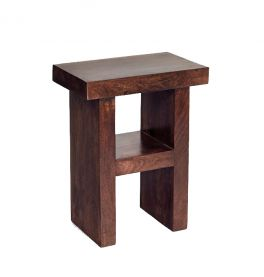 Toko Dark Mango H Shape Table / Stool for Living Room