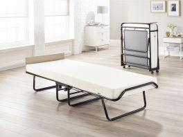 JAY-BE Supreme Automatic Folding Guest Bed & Mattresses - 2ft6 Small Single + Memory Foam Mattress