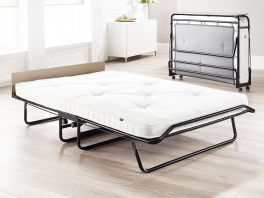 JAY-BE Supreme Automatic Folding Guest Bed & Mattresse - 4ft Small Double + Pocket Sprung Matt