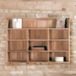 Baumhaus Mobel Oak Reversible Wall Rack - COR07B