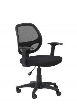 Alphason Davis Mesh Back Operator Chair in Black