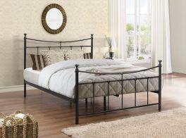 Birlea Emily Metal Bed - 3ft Single, 4ft Small Double, 4ft6 Double - Black
