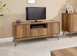 Orleans 1 Drawer 2 Door Mango Wood Effect TV Stand