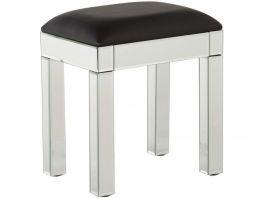 Venetian Glass Bedroom Furniture Range - Dressing Table Stool