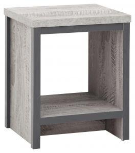 Boston Grey Urban Design Living Room Furniture - Simple Lamp Table
